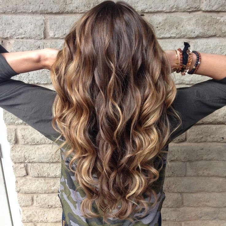 Balayage, the fall hair style